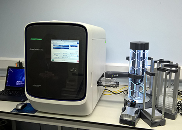 S-LAB seamlessly integrates with qPCR platforms