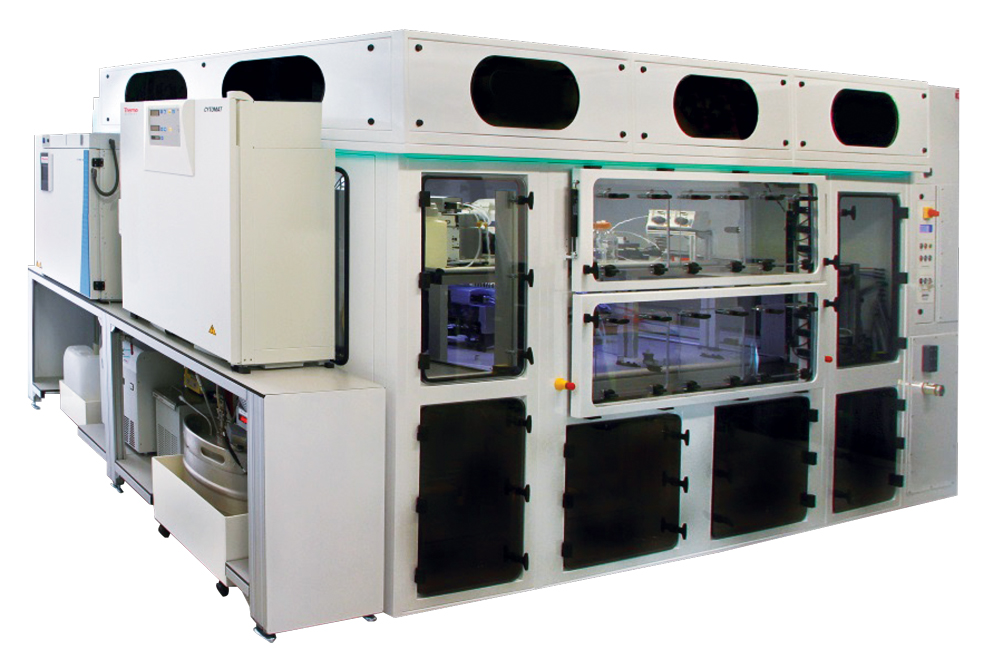A sterile workcell is vital for laboratory automation